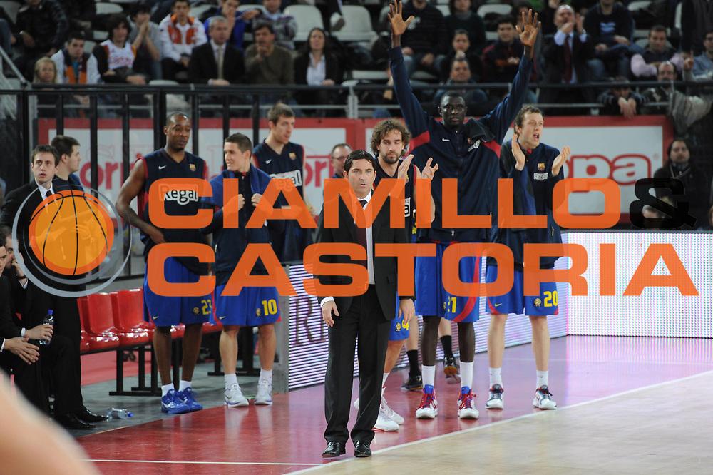 DESCRIZIONE : Roma Eurolega 2010-11 Top 16 Lottomatica Virtus Roma Regal Barcelona Barcellona<br /> GIOCATORE : Teram Barcellona<br /> SQUADRA : Lottomatica Virtus Roma <br /> EVENTO : Eurolega 2010-2011<br /> GARA : Lottomatica Virtus Roma Regal Barcelona Barcellona Barcelona<br /> DATA : 17/02/2011<br /> CATEGORIA : Esultanza<br /> SPORT : Pallacanestro <br /> AUTORE : Agenzia Ciamillo-Castoria/ElioCastoria<br /> Galleria : Eurolega 2010-2011<br /> Fotonotizia : Roma Eurolega 2010-11 Top 16 Lottomatica Virtus Roma Regal Barcelona Barcellona<br /> Predefinita :