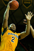 WACO, TX - JANUARY 11: Rico Gathers #2 of the Baylor Bears shoots the ball against the TCU Horned Frogs on January 11, 2014 at the Ferrell Center in Waco, Texas.  (Photo by Cooper Neill/Getty Images) *** Local Caption *** Rico Gathers