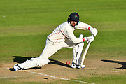 Stephen Parry of Lancashire batting during the Specsavers County Champ Div 1 match between Somerset County Cricket Club and Lancashire County Cricket Club at the Cooper Associates County Ground, Taunton, United Kingdom on 14 September 2017. Photo by Graham Hunt.