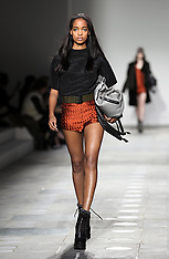 Unique A/W 2012 show at London Fashion Week