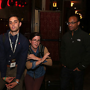 November 12, 2014, Las Vegas, Nevada:<br /> Billie Weiss, Lauren Foley, Stephen Villatoro, shoot the TEAMS conference in Las Vegas, Nevada Sunday, November 9, 2014.<br /> (Photo by Billie Weiss/TEAMS)