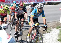 20.04.2018, Innsbruck, AUT, Tour of the Alps, Österreich, 5. Etappe, von Rattenberg nach Innsbruck (164,2 km), im Bild Markus Eibegger (AUT, Team Felbermayr Simplon Wels) // Markus Eibegger of Austria Team Felbermayr Simplon Wels during 5th stage from Rattenberg to Innsbruck of 2018 Tour of the Alps in Innsbruck, Austria on 2018/04/20. EXPA Pictures © 2018, PhotoCredit: EXPA/ Reinhard Eisenbauer