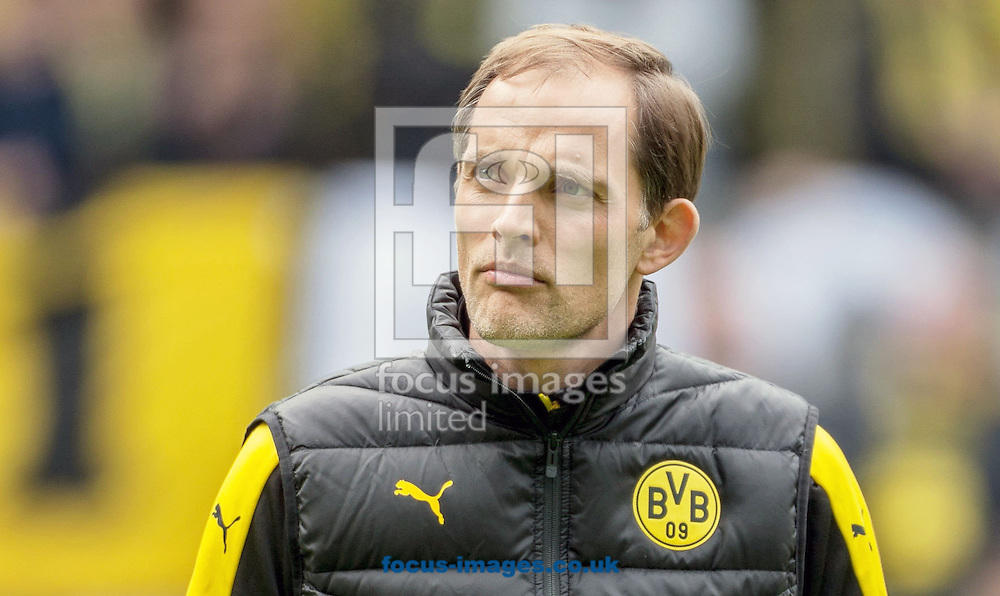 Thomas Tuchel, head coach of Borussia Dortmund during the Bundesliga match at Signal Iduna Park, Dortmund<br /> Picture by EXPA Pictures/Focus Images Ltd 07814482222<br /> 14/05/2016<br /> ***UK &amp; IRELAND ONLY***<br /> EXPA-EIB-160514-0119.jpg
