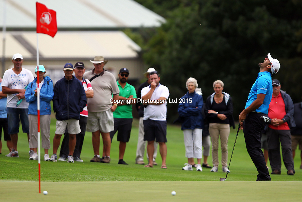 Michael Hendry during the Holden NZPGA Championship at Remuera Golf Course in Auckland, New Zealand. Friday 6 March 2015. Copyright photo: William Booth / www.Photosport.co.nz