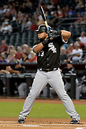PHOENIX, AZ - MAY 24:  Melky Cabrera #53 of the Chicago White Sox stands at  bat in the first inning against the Arizona Diamondbacks at Chase Field on May 24, 2017 in Phoenix, Arizona. The Arizona Diamondbacks won 8-6.  (Photo by Jennifer Stewart/Getty Images)