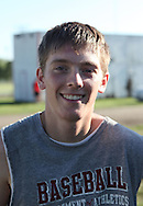 Clayton Visek, 18, senior, during the first day of football practice at Central City High School in Central City on Wednesday afternoon, August 3, 2011.