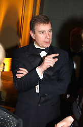 HRH The DUKE OF YORK at the Russian Rhapsody Gala dinner concert held at The Royal Albert Hall, London on 11th April 2005.  <br />