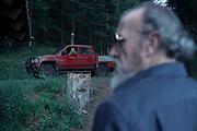 SAISON 1 EPISODE 2<br /> Brigitte Sy (Sabine Hennequin)<br /> Olivier Bonjour (Gerald Steiner)<br /> TOURNAGE &quot;ZONE BLANCHE&quot;<br /> Gerardmer, FRANCE-JUIN-OCTOBRE 2016