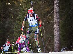 Maren Hammerschmidt (GER) competes during Women 10 km Pursuit at day 3 of IBU Biathlon World Cup 2015/16 Pokljuka, on December 19, 2015 in Rudno polje, Pokljuka, Slovenia. Photo by Ziga Zupan / Sportida