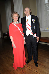 PRINCE & PRINCESS DIMITRI OF RUSSIA at the 13th annual Russian Summer Ball held at the Banqueting House, Whitehall, London on 14th June 2008.<br />