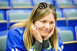 Fan of Slovenia looks dejected after the Ice Hockey match between Slovenia and USA at Day 10 in Group B of 2015 IIHF World Championship, on May 10, 2015 in CEZ Arena, Ostrava, Czech Republic. Photo by Vid Ponikvar / Sportida