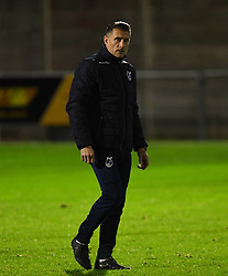 Bristol Rovers U23 manager Chris Hargreaves looks on - Mandatory by-line: Alex Davidson/JMP - 16/11/2017 - FOOTBALL - Woodspring Stadium - Weston-super-Mare, England - Bristol City U23 v Bristol Rovers U23 - Central League Cup