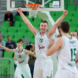 20140323: SLO, Basketball - ABA League, KK Union Olimpija vs KK Krka
