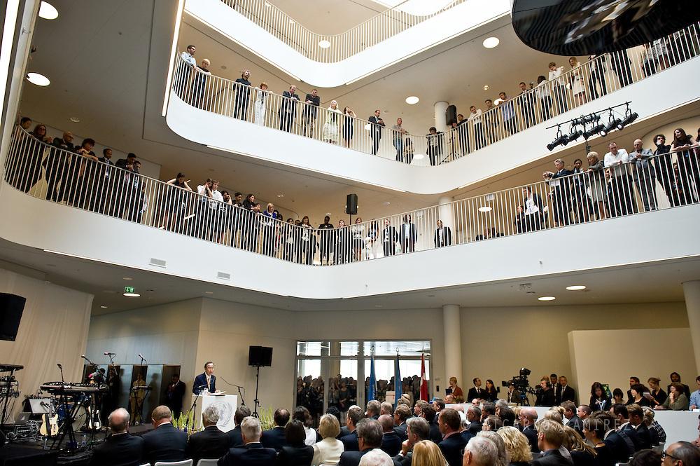 04.07.2013. Copenhagen, Denmark.UN Secretary-General, Ban Ki-moon attend the officially opened UN City in CopenhagenPhoto:© Ricardo Ramirez
