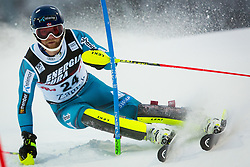 """Jonathan Nordbotten (NOR) during FIS Alpine Ski World Cup 2016/17 Men's Slalom race named """"Snow Queen Trophy 2017"""", on January 5, 2017 in Course Crveni Spust at Sljeme hill, Zagreb, Croatia. Photo by Ziga Zupan / Sportida"""