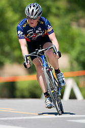 Bryan Moritz / Iowa State University Cycling<br /> <br /> The 2007 USA Cycling Collegiate Road Championship criterium was held in downtown Lawrence, Kansas on May 13, 2007.