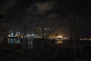 Malta, Marsa. Il porto e il traghetto della Virtu Ferries che collega quotidianamente Malta alla Sicilia