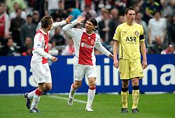 25-04-2010 VOETBAL: AJAX - FEYENOORD: AMSTERDAM<br /> De eerste wedstrijd in de bekerfinale is gewonnen door Ajax met 2-0 / Siem de Jong scoort de 1-0 en Marko Pantelic<br /> ©2009-WWW.FOTOHOOGENDOORN.NL