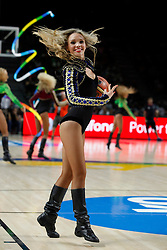 13.09.2014, City Arena, Madrid, ESP, FIBA WM, Frankreich und Litauen, Entscheidungsspiel zwischen Platz 3 und 4, im Bild Cheerleaders // during FIBA Basketball World Cup Spain 2014 playoff match place 3 and 4 between France and Lithuania at the City Arena in Madrid, Spain on 2014/09/13. EXPA Pictures © 2014, PhotoCredit: EXPA/ Alterphotos/ Victor Blanco<br /> <br /> *****ATTENTION - OUT of ESP, SUI*****