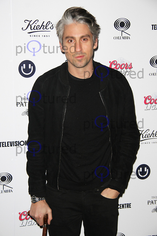 George Lamb, Mark Ronson - Album Launch Party, Television Centre, London UK, 23 January 2015, Photo By Brett D. Cove