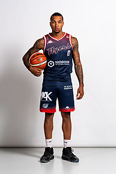 Gentrey Thomas on the Bristol Flyers Media Day - Rogan/JMP - 13/09/2019 - BASKETBALL - Ashton Gate Stadium - Bristol, England.