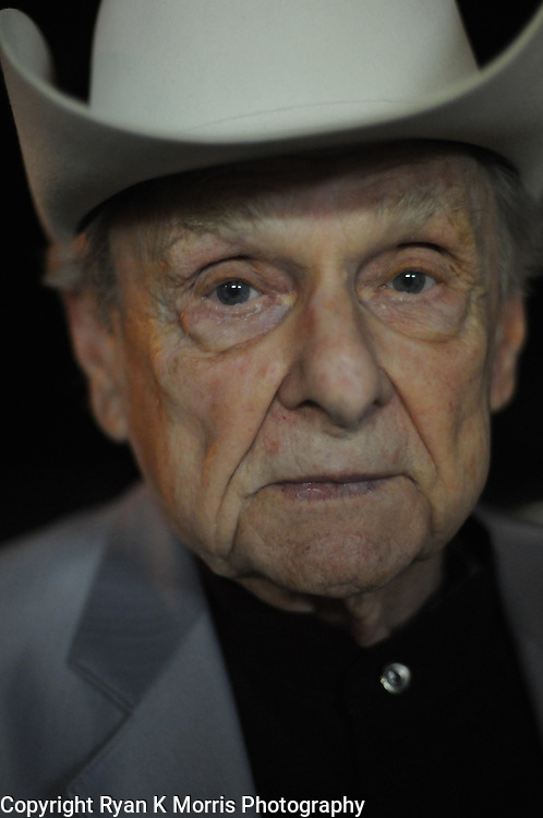 A portrait of Dr. Ralph Stanley in Tampa, FL on December 6, 2009. Photo by Ryan K Morris