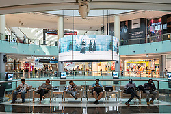 Interior of Dubai Mall, UAE, United Arab Emirates,