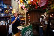 The former owner of Toms Restaurant in Prospect Heights, Gus Vlahavas. Gus Vlahavas passed away in November 2014.