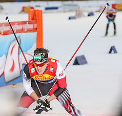 20.12.2014, Nordische Arena, Ramsau, AUT, FIS Nordische Kombination Weltcup, Staffel Langlauf, im Bild Philipp Orter (AUT) // during Cross Country of FIS Nordic Combined World Cup, at the Nordic Arena in Ramsau, Austria on 2014/12/20. EXPA Pictures © 2014, EXPA/ Martin Huber