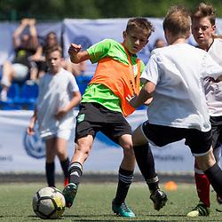 20180513: SLO, Football - Volkswagen Junior Masters Berlin 2018 with Mile Acimovic