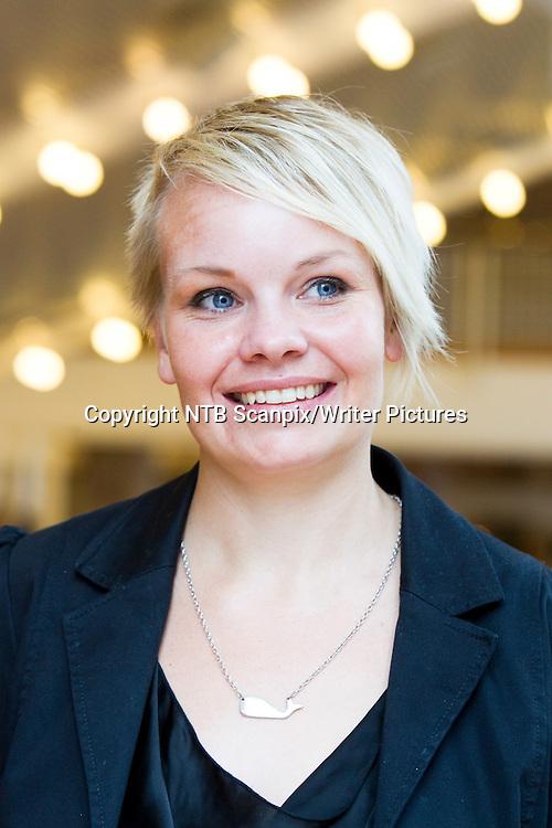 Oslo  20100824.<br /> Forfatter Berit R&macr;dst&macr;l  under presentasjonen av Det Norske Samlagets h&macr;stliste 2010.<br /> Foto: Berit Roald / Scanpix<br /> <br /> NTB Scanpix/Writer Pictures<br /> <br /> WORLD RIGHTS, DIRECT SALES ONLY, NO AGENCY