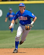 Kansas shortshop Jared Schweltzer during action against Kansas State.  The Wildcats held on to beat Kansas 5-4 at Tointon Stadium in Manhattan, Kansas, April 23, 2006.