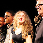 Greg Phillinganes, Herbie Hancock, Tal Wilkenfeld, and Vinnie Colaiuta (L to R)