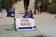 Australia Day photograph at Scarborough Beach Perth West Australia