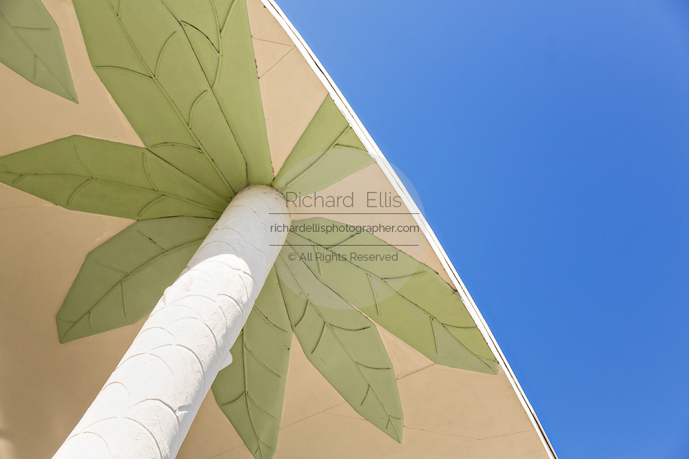 Decorated roof at Main Street Disney World in Lake Buena Vista, Florida.