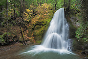 Yakso Falls on the Little River, Umpqua National Forest, Oregon.