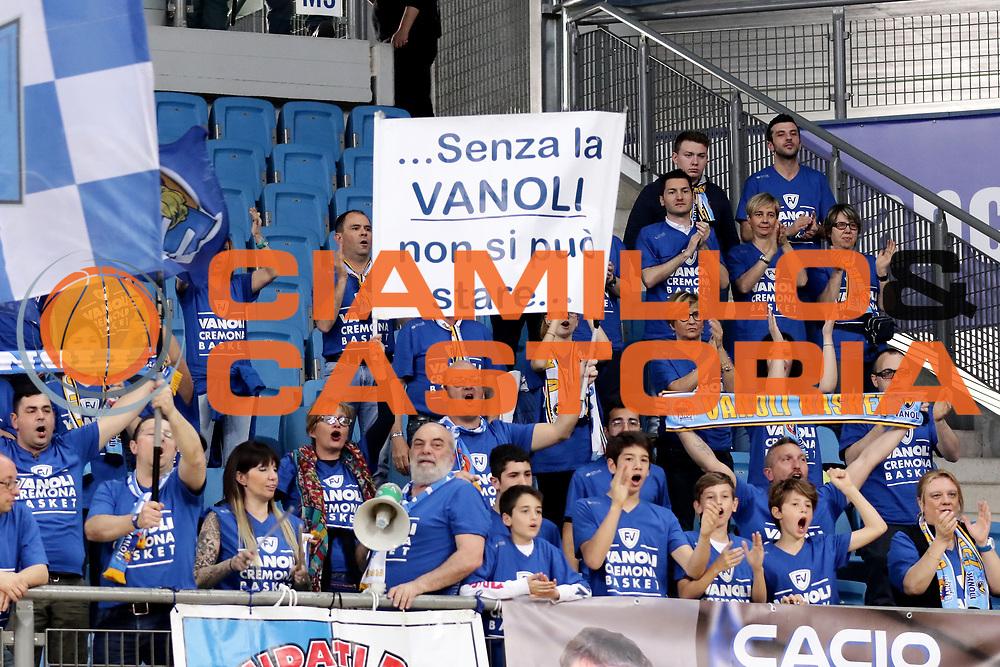 Tifosi Ultras Cremona<br /> Consultinvest VL Pesaro - Vanoli Cremona<br /> Lega BasketSerie A 2016/2017<br /> Pesaro 02-04-2017
