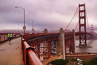 Cyclist, Golden Gate Bridge