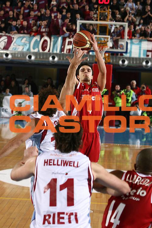 DESCRIZIONE : Rieti Lega A1 2007-08 Solsonica Rieti Cimberio Varese<br /> GIOCATORE : Marco Passera<br /> SQUADRA : Cimberio Varese<br /> EVENTO : Campionato Lega A1 2007-2008 <br /> GARA : Solsonica Rieti Cimberio Varese<br /> DATA : 27/01/2008<br /> CATEGORIA : tiro<br /> SPORT : Pallacanestro <br /> AUTORE : Agenzia Ciamillo-Castoria/E.Castoria