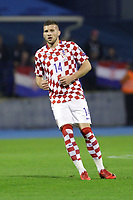 ZAGREB, CROATIA - NOVEMBER 09: Ante Rebic of Croatia runs during the FIFA 2018 World Cup Qualifier play-off first leg match between Croatia and Greece at Maksimir Stadium on November 9, 2017 in Zagreb, Croatia. (Luka Stanzl/PIXSELL)