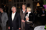 Michael Winner and  Paul O'Grady, First night for 'The Producers' at the Theatre Royal, Drury Lane and afterwards at the Waldorf Astoria. ONE TIME USE ONLY - DO NOT ARCHIVE  © Copyright Photograph by Dafydd Jones 66 Stockwell Park Rd. London SW9 0DA Tel 020 7733 0108 www.dafjones.com