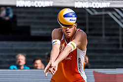 07-09-2018 NED: King of the Court, Utrecht<br /> 5 teams play in 3 rounds for the title 'King of the Court Alexander Brouwer #1 NED