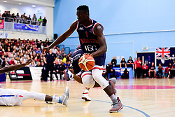 Daniel Edozie of Bristol Flyers - Photo mandatory by-line: Ryan Hiscott/JMP - 26/04/2019 - BASKETBALL - SGS Wise Arena - Bristol, England - Bristol Flyers v London City Royals - British Basketball League Championship