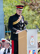 Prince Harry Inaugurates Bastion Memorial