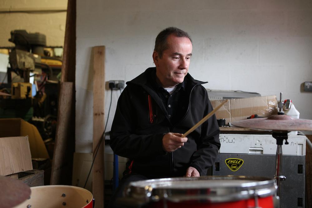 John Maher, ex-Buzzcocks drummer