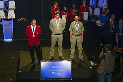 The 2017 SkillsUSA National Leadership and Skills Conference Competition Medalists were announced Friday, June 23, 2017 at Freedom Hall in Louisville. <br /> <br /> Electrical Construction Wiring<br /> <br /> Brian A Cote<br />   High School Oliver Wolcott Technical High School<br />   Gold Torrington, CT<br /> Electrical Construction WiringJustin Deeken<br />   High School Highland Community College Technical Center<br />   Silver Atchison, KS<br /> Electrical Construction WiringJoseph M Herard<br />   High School Bay Path RVT High School<br />   Bronze Charlton, MA<br /> Electrical Construction WiringBrandon Saxon<br />   College Marchman Technical College<br />   Gold New Port Richey, FL<br /> Electrical Construction WiringAnthony Hanto<br />   College Dakota County Technical College<br />   Silver Rosemount, MN<br /> Electrical Construction WiringScotty Holloway<br />   College Tennessee College of Applied Tech-Crossville<br />   Bronze Crossville, TN