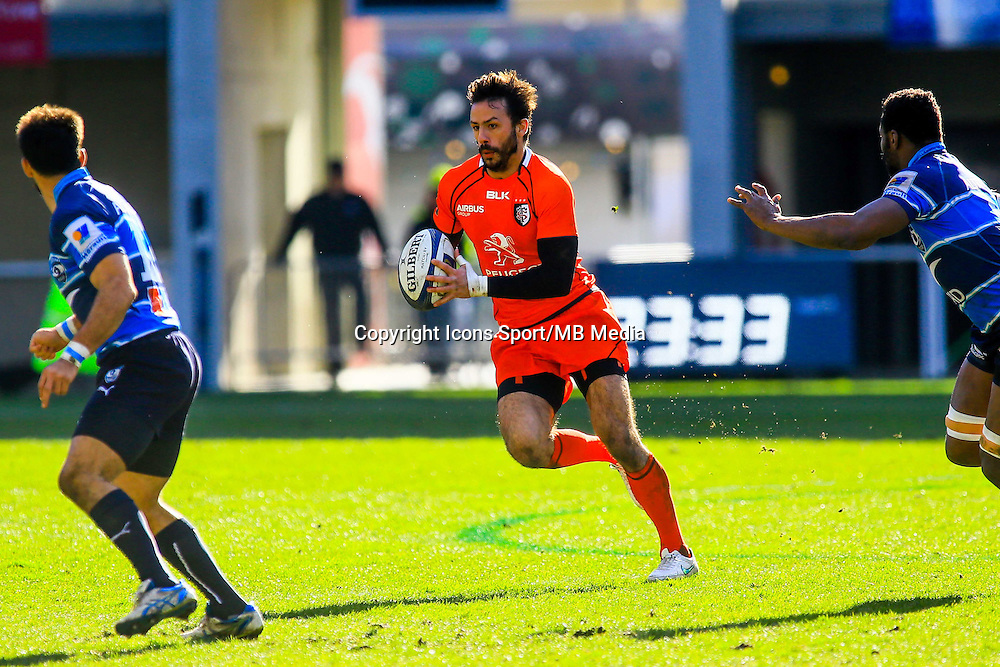 Clement POITRENAUD - 25.01.2015 -  Montpellier / Toulouse - European Champions Cup <br /> Photo : Nicolas Guyonnet / Icon Sport