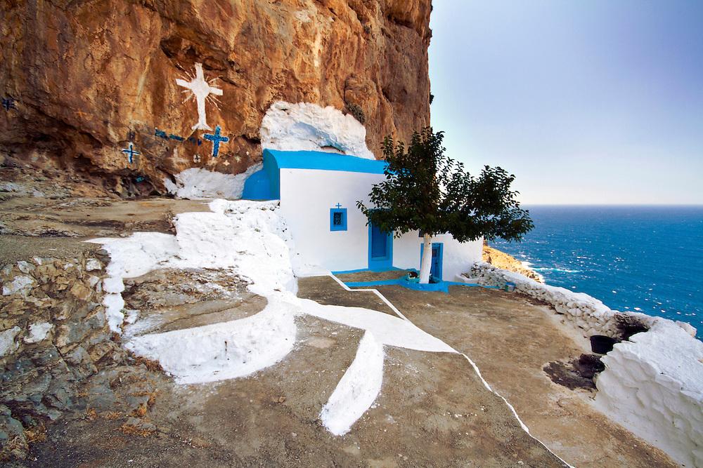 Aghios Fotis monastery, Kalymnos island, Greece.