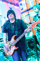 The Goo Goo Dolls perform at The MLB Fan Cave on May 1, 2013