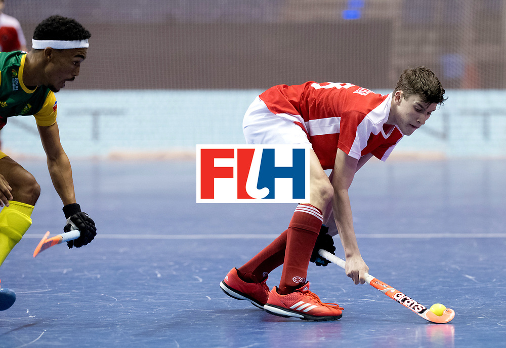 BERLIN - Indoor Hockey World Cup<br /> Men: Austria - South Africa<br /> foto: UNTERKIRCHER Fabian.<br /> WORLDSPORTPICS COPYRIGHT FRANK UIJLENBROEK